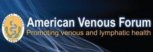 American Venous Forum logo - a research forum on venous and lymphatic disease